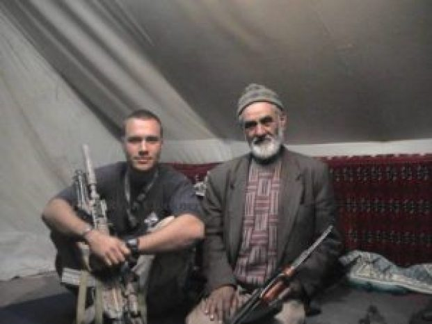 Book Author in Afghanistan. Used with permission of Ryan Cleckner