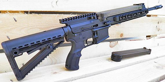 Lone Wolf G9: Pistol-caliber AR, Powered by Glock Mags