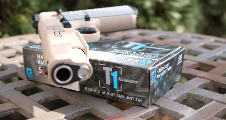 Pass the Ammo: T1 Ammunition Review by a Bianchi Cup Shooter