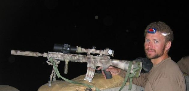 """My former Teammate and """"Ace"""" sniper student """"Axe"""". See you on the other side brother. Read more: http://loadoutroom.com/64/navy-seal-sniper-rifles-explained/#ixzz4B8hpj9tZ"""