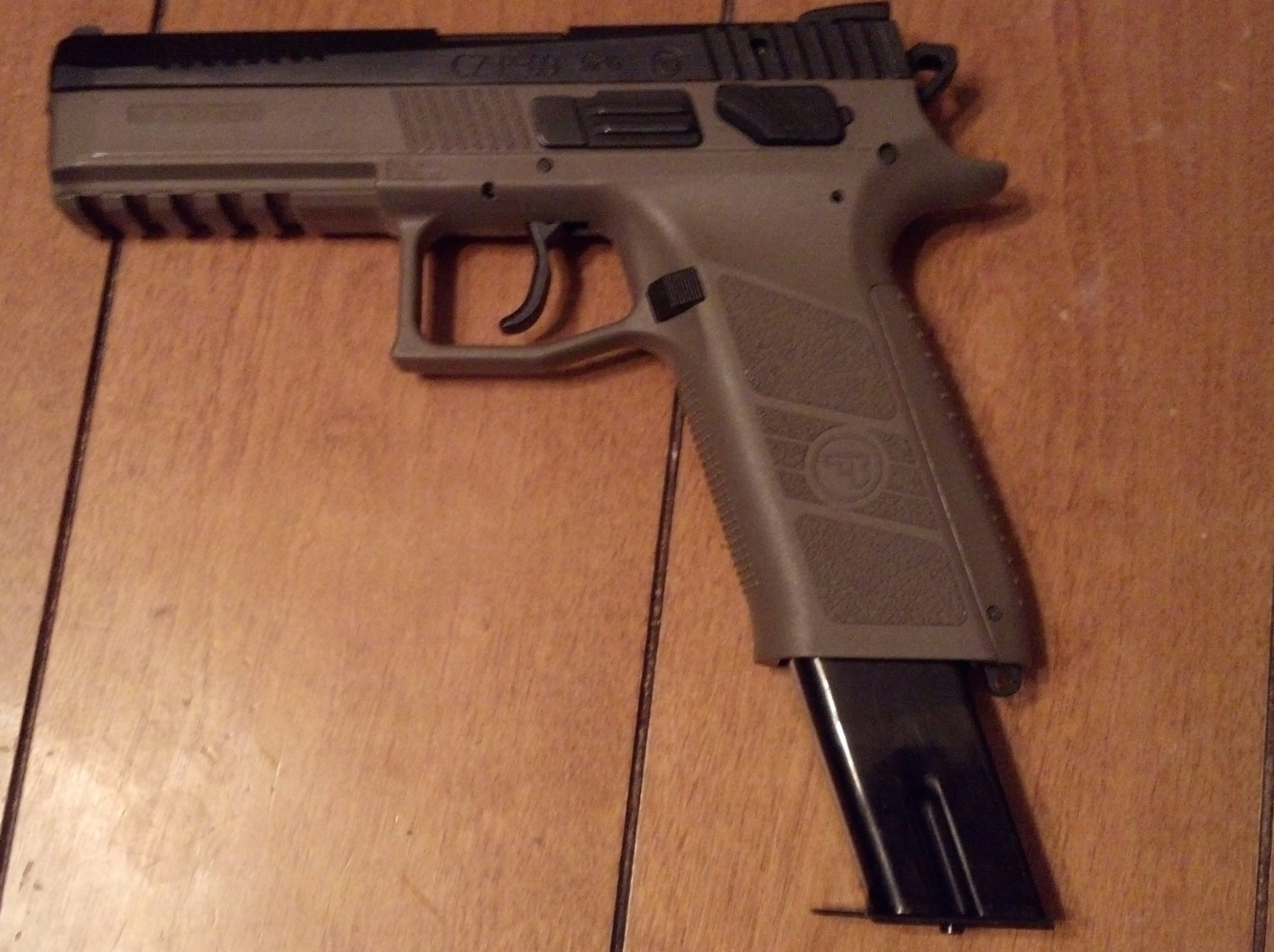 The austonding CZ P09 (with a little Cajun)