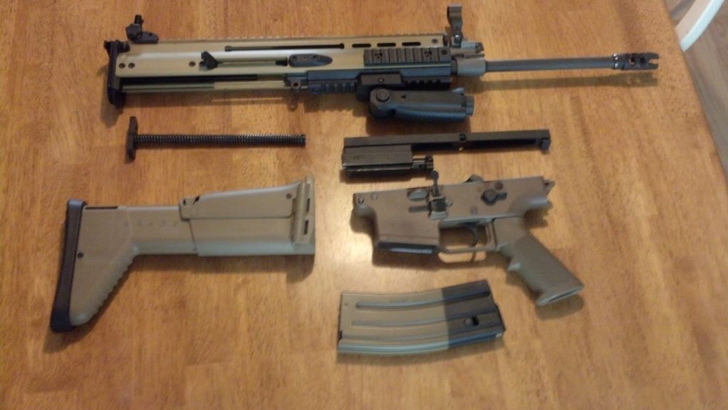 The SCAR 16S   A First Look