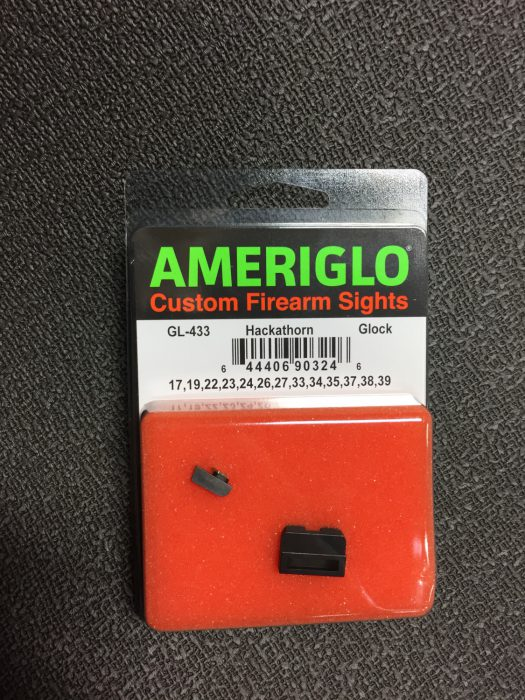 Review: AmeriGlo Hackathorn Glock Night Sights