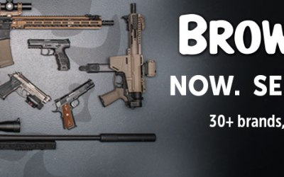 Brownells now selling Firearms