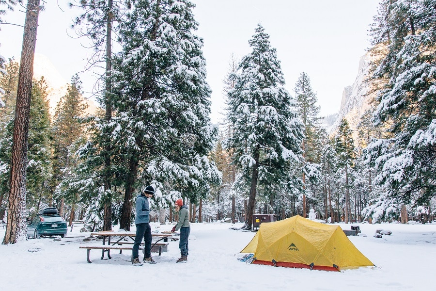 Best cold weather tent: keep safe whatever the weather