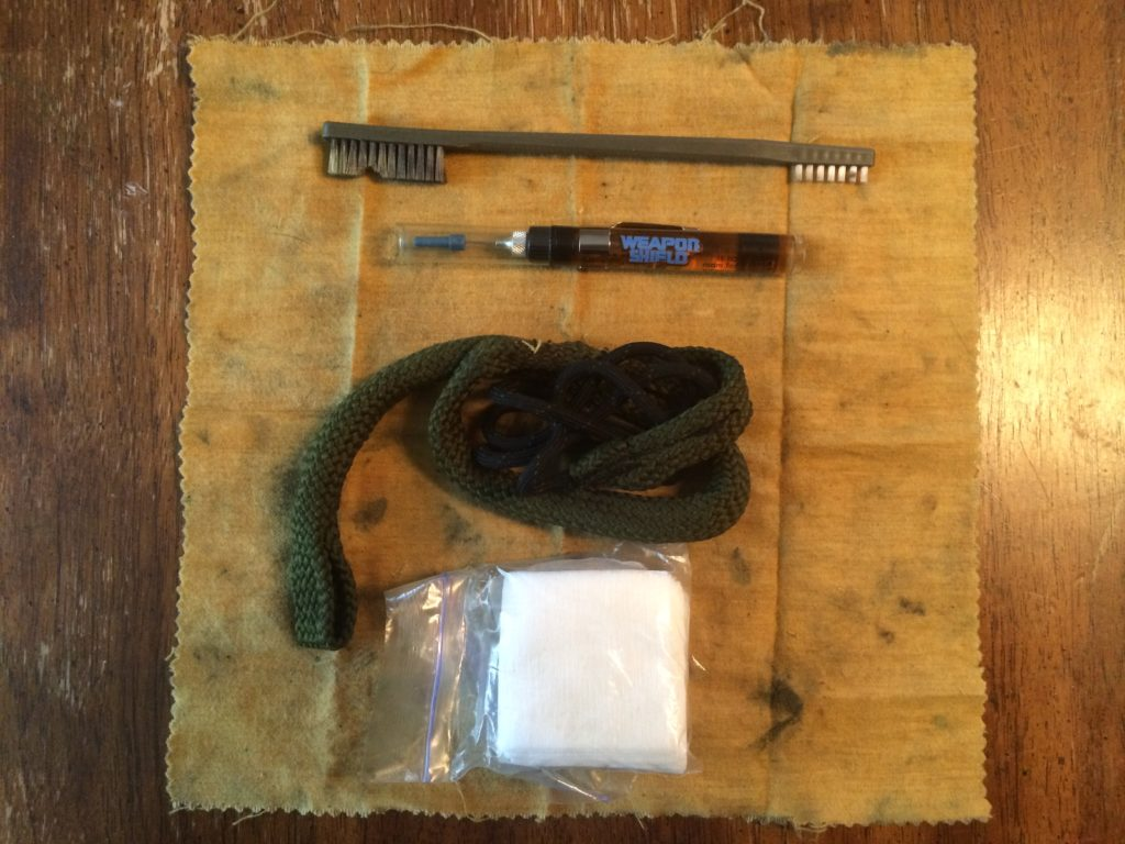 Minimalist Glock cleaning kit for your range bag