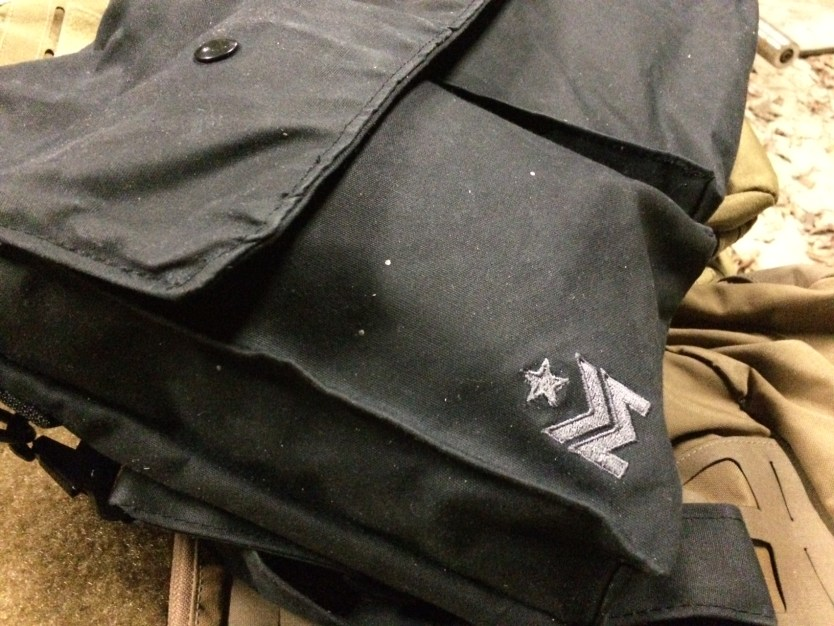 Claymore messenger bag