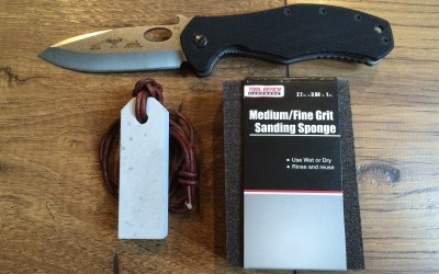 An Inexpensive way to Maintain your Knives | Sanding Sponge