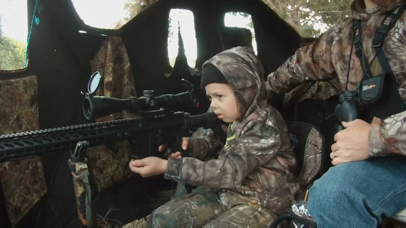 7 year old Lilly Klapper Drops Her First Deer