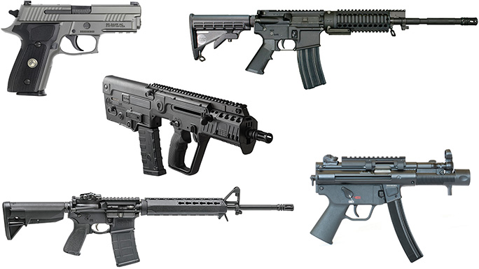 Tactical-Life's Top 5 New Guns from 2016