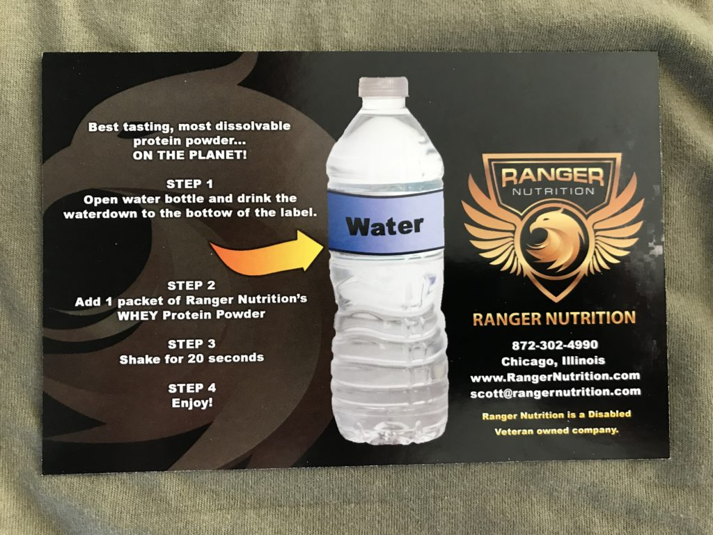 Ranger Nutrition Whey Protein Powder