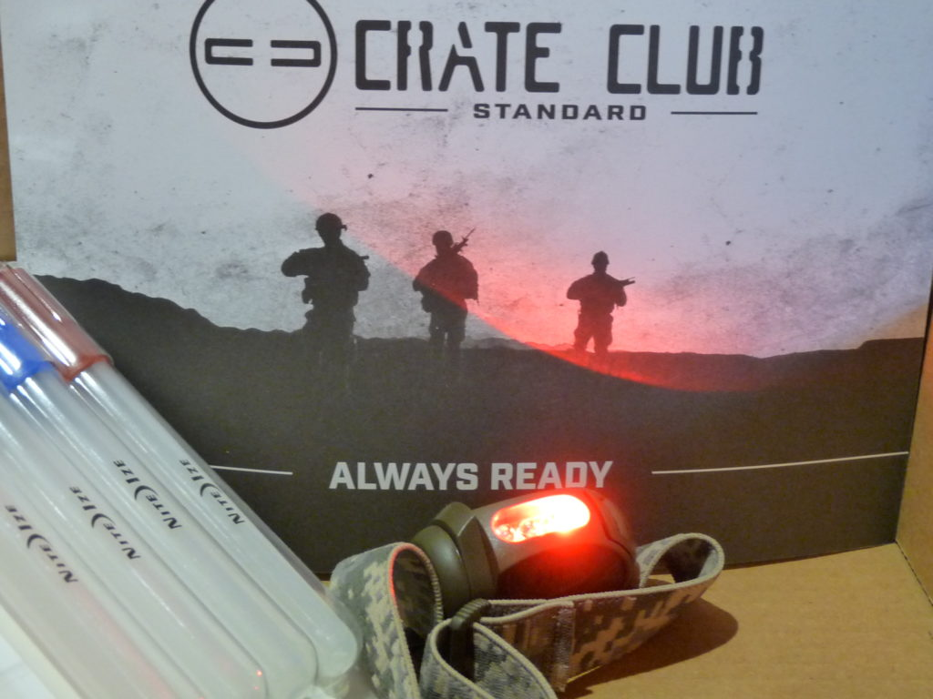 Crate Club Review | Princeton Tec FRED Headlamp
