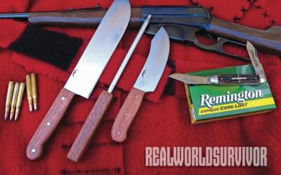 Modern Man's Coquina Outfit Knives