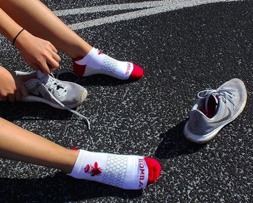 This company spent two years perfecting gym socks, and it paid off