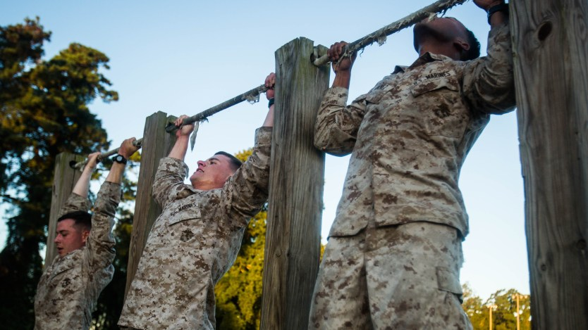 Marines get new PFT: more pullups, more crunches…