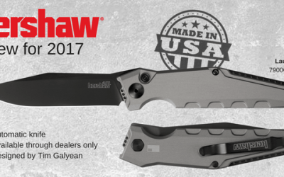 Made-in-the-USA Kershaw Launch 7 automatic