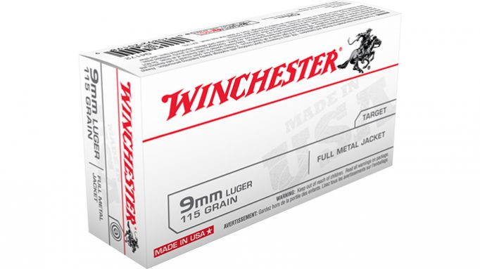 Winchester to Supply Ammo for Army's Modular Handgun System Program