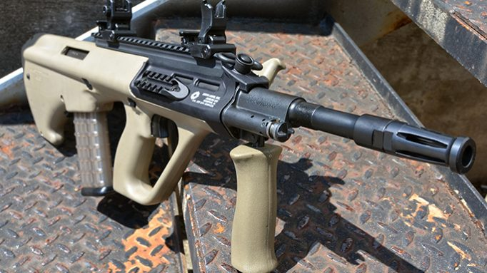 Steyr Arms Is in Production on the AUG A3 M1 Long Rail Rifle