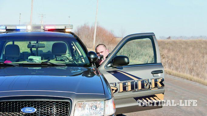 Police Tactics: Using a Patrol Car as Cover During a Shootout