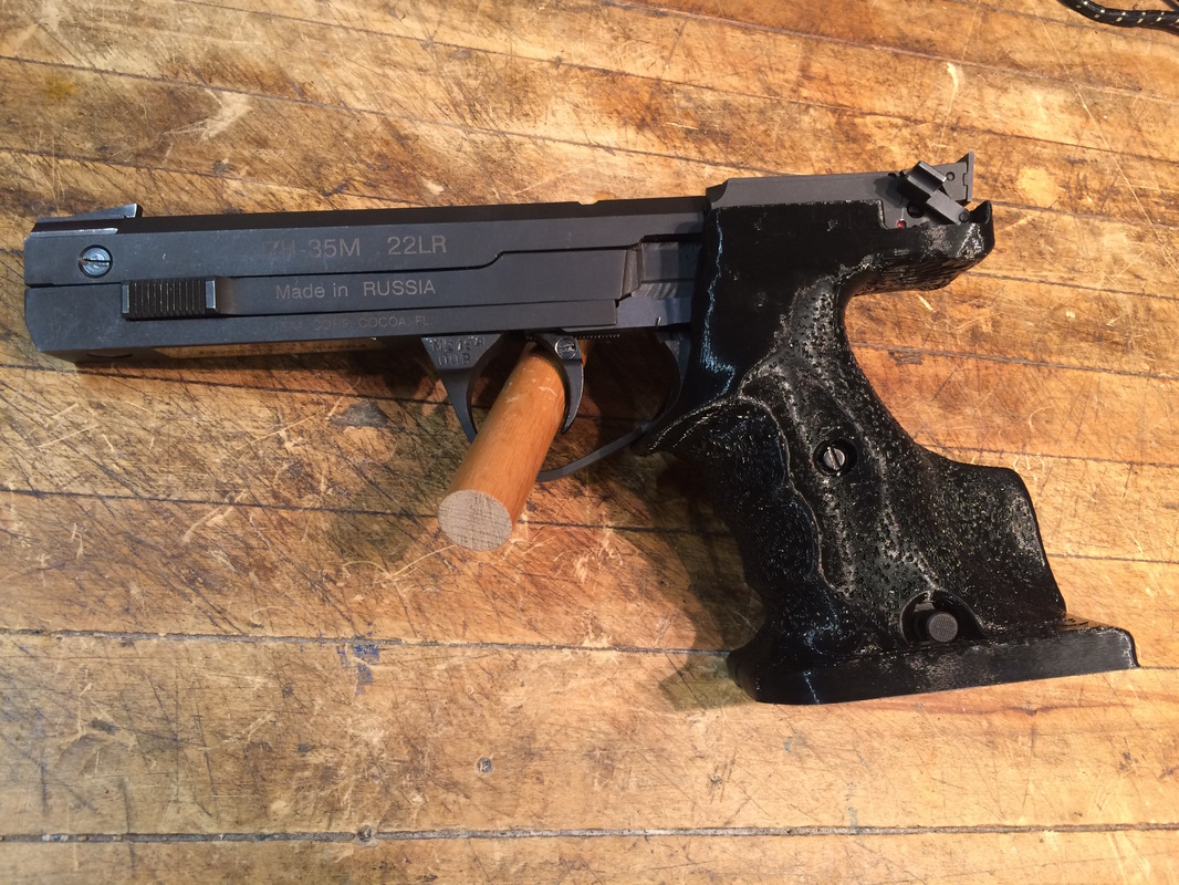 3D Printed Custom Target Grips: Weapons of Mass Customization - The