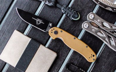 """The Best EDC Knives Under 3"""" in 2017"""