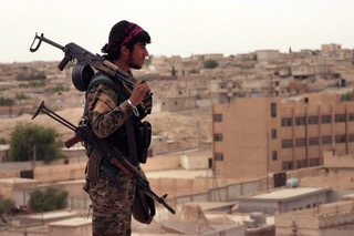 Syrian Kurds are now armed with sensitive US weaponry, and the Pentagon denies supplying it