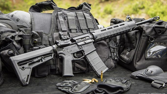 Smith & Wesson Equips 3 M&P15 Rifles with Magpul's MOE SL Accessories