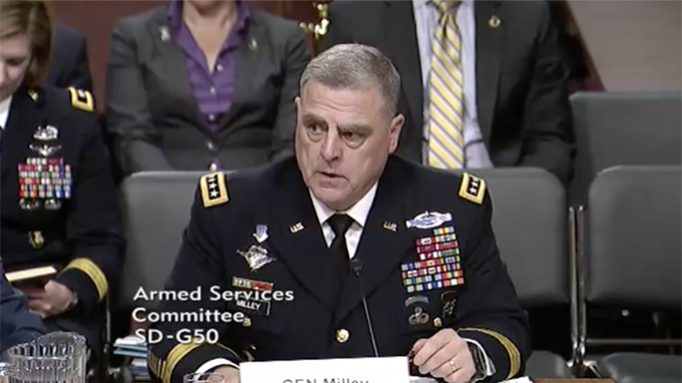 Army Chief of Staff: We've Developed a Round that Can Pierce 5.56 Body Armor
