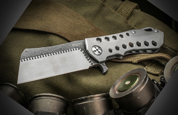 DDR Knives Changes Composite Blade for Michael Walker