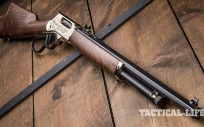 Gun Review: Brass-Framed, Octagon-Barreled Henry 45-70 Lever-Action Rifle