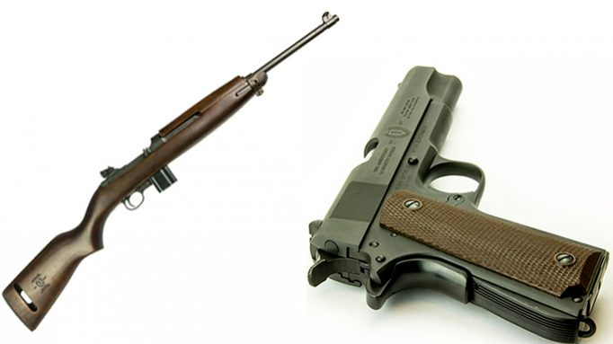 Inland Releases US Army 1st Infantry Division 100th Anniversary M1 Carbine, 1911A1