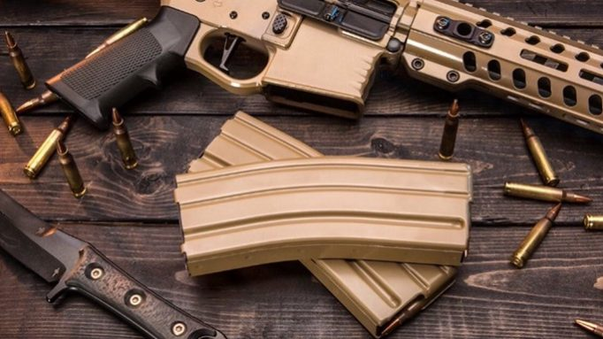Okay Industries' SureFeed Magazines Now Available in Desert Tan