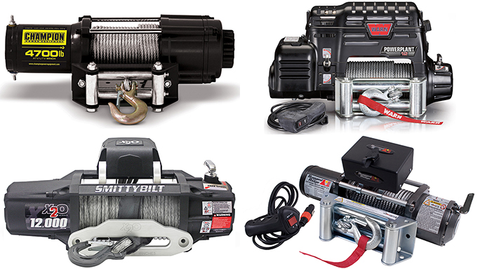 Gettin' Unstuck: 8 Winches to Pull You Out of a Jam