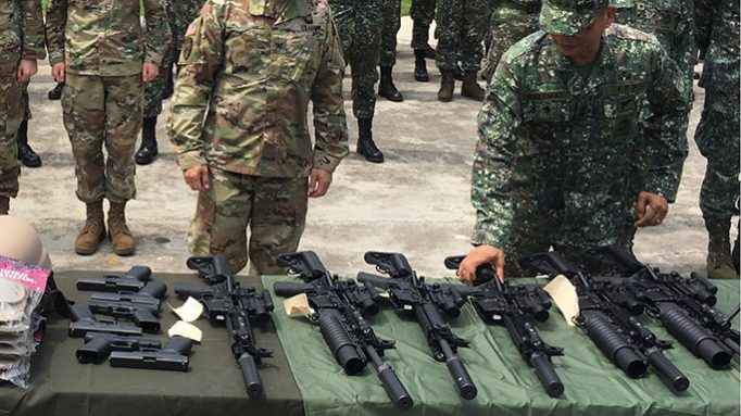 Philippine Marines Get SureFire Suppressors, Weaponlights for Terror Group Fight