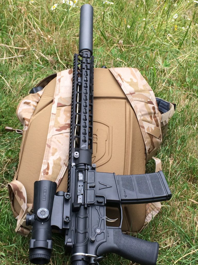 Suppressed Armament Systems | Titanium Brake and Mount
