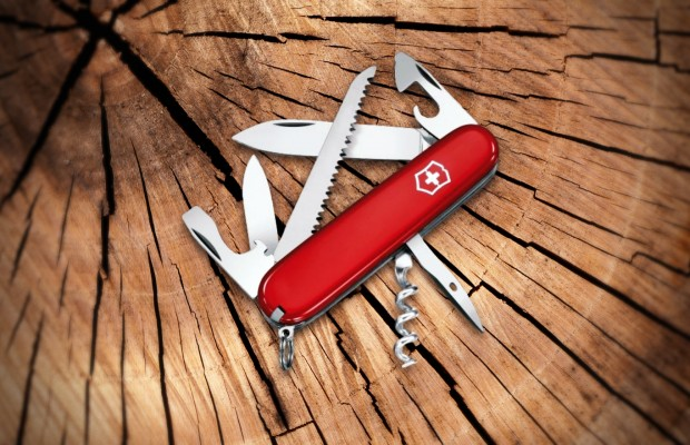Author Tackles 63 Survival Tasks Using Swiss Army Knife