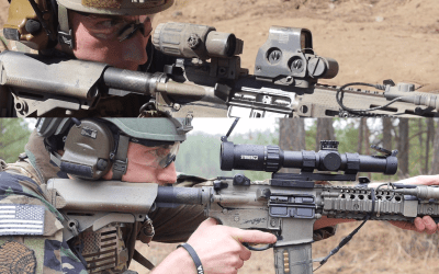 Video: Red dot + Magnifier vs Low Power Variable Optics