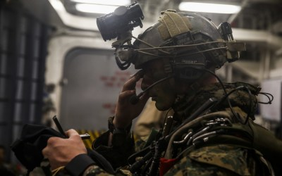 Loadout Room photo of the day | 15th MEU Force Recon Marines prepare for insert