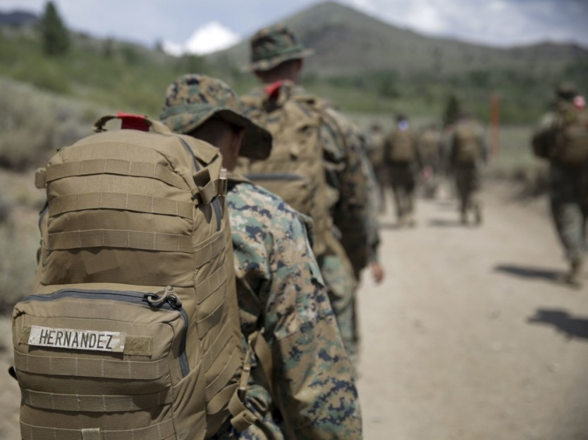 Loadout Room photo of the day   Marines elevate combat skills during Mountain Warfare Training