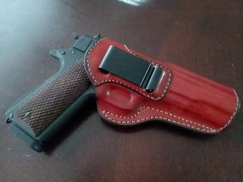 Why I've gone back to leather holsters