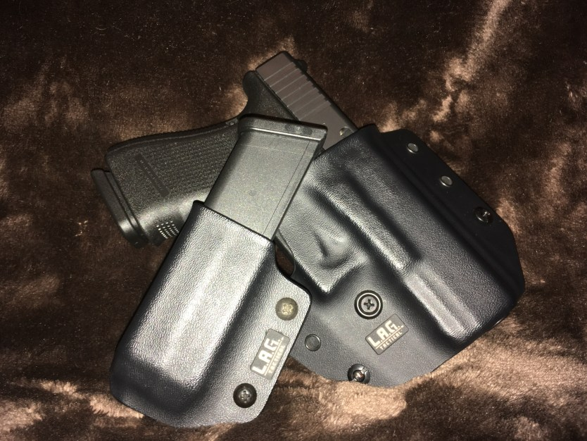 L.A.G. The Defender IWB/OWB Holster and Single Pistol Mag Carrier v2