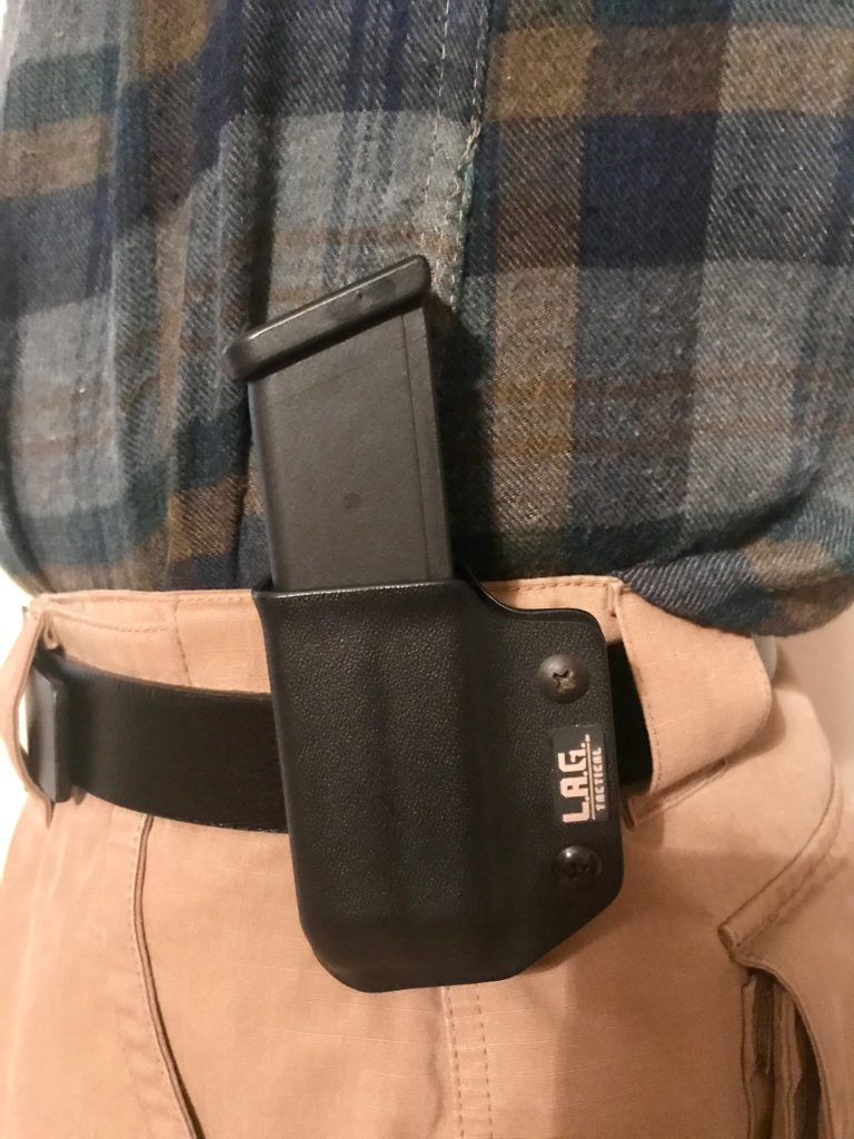 The L.A.G. Defender IWB/OWB Holster and Single Pistol Mag Carrier v2