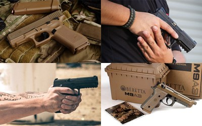 The 8 Pistols That Battled to Win the Army's XM17 MHS Competition