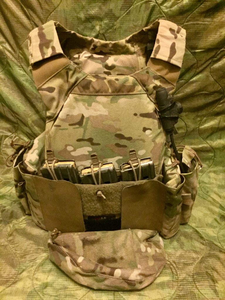 Crye Precision LV-MBAV lightweight plate carrier: Army Ranger approved