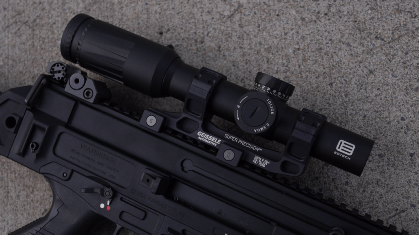 Watch: Mounting an optic into scope rings (Geissele)