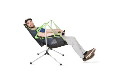 The First-Ever Swinging and Reclining Camp Chair Hits the Market