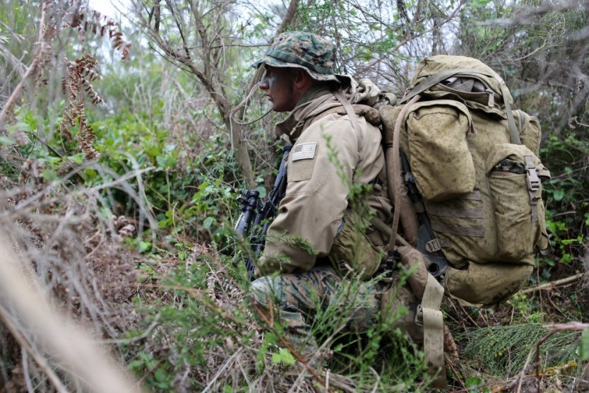 Loadout Room photo of the day   Reconnaissance and surveillance patrol hones Marines' readiness