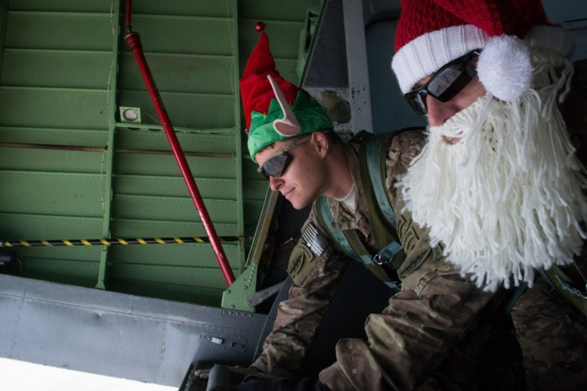 Loadout Room photo of the day | US Special Forces soldiers air deliver bundles on Christmas Eve