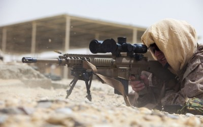 Loadout Room photo of the day | 26th MEU Maritime Raid Force Qatar Sniper Live Fire