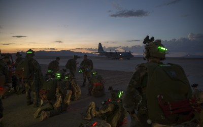 Loadout Room photo of the day: 1st Marine Raider Battalion Jump